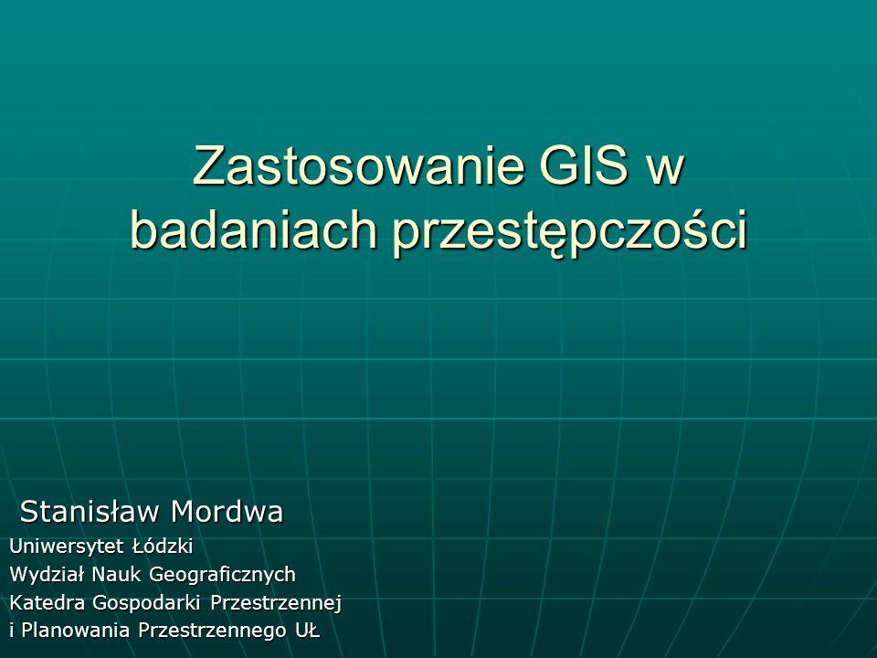 Zastosowanie GIS w badaniach przestępczości