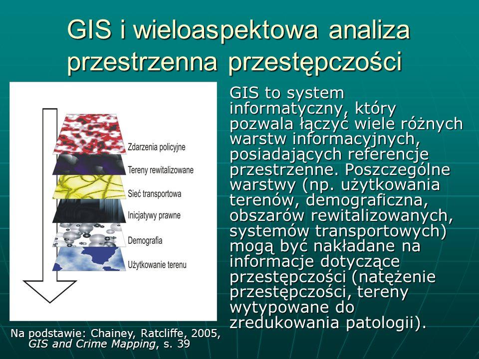 GIS i wieloaspektowa analiza przestrzenna przestępczości