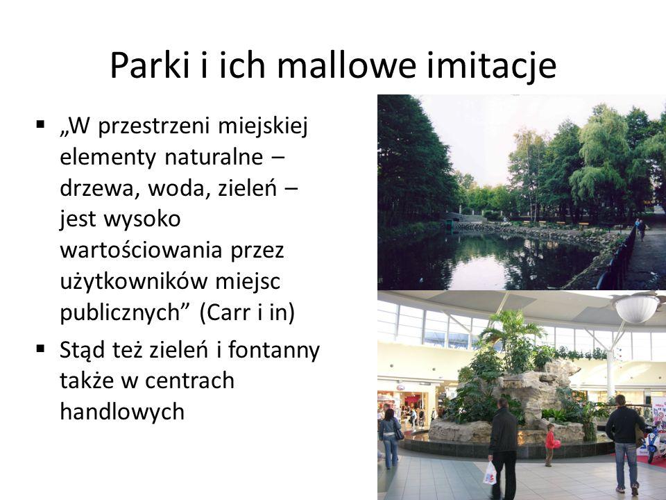 Parki i ich mallowe imitacje