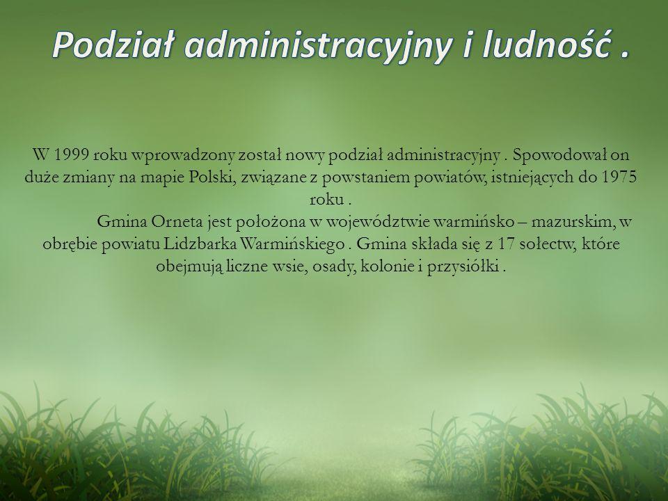 Podział administracyjny i ludność .