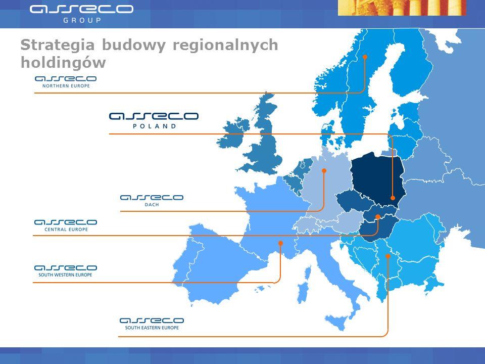 Strategia budowy regionalnych holdingów