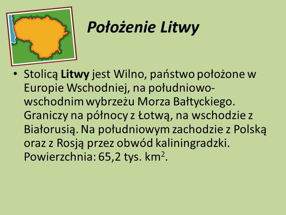 Położenie Litwy