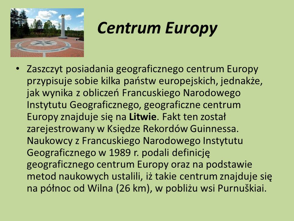 Centrum Europy