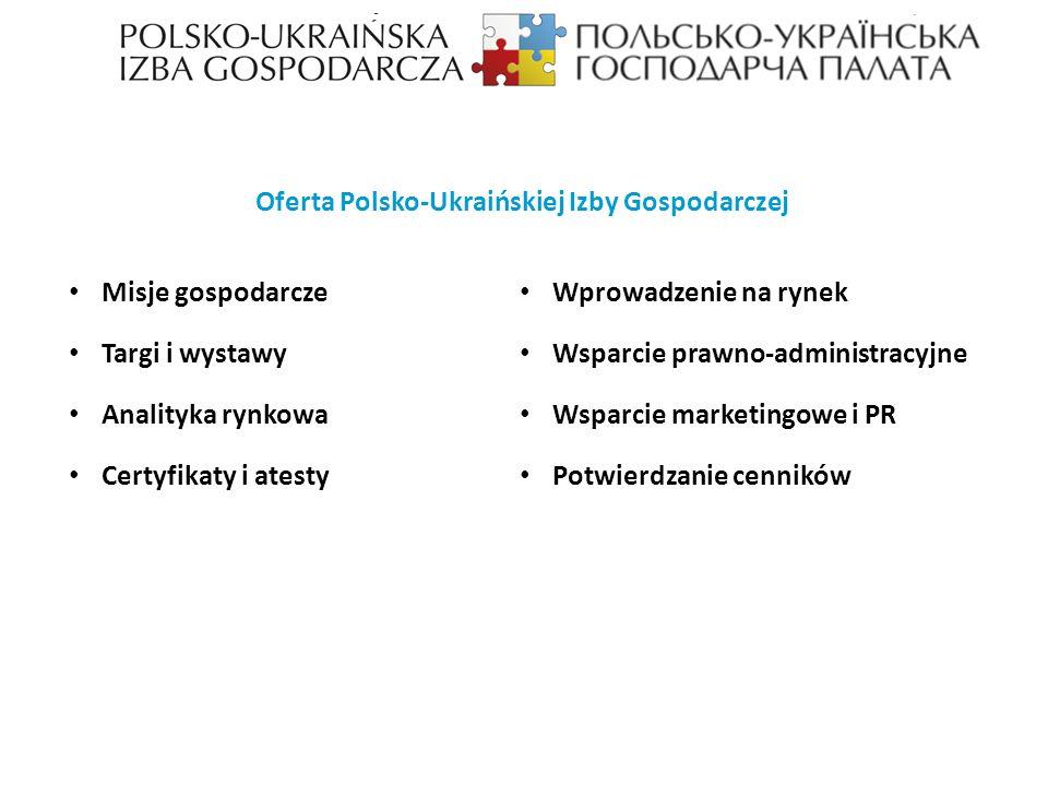 Oferta Polsko-Ukraińskiej Izby Gospodarczej