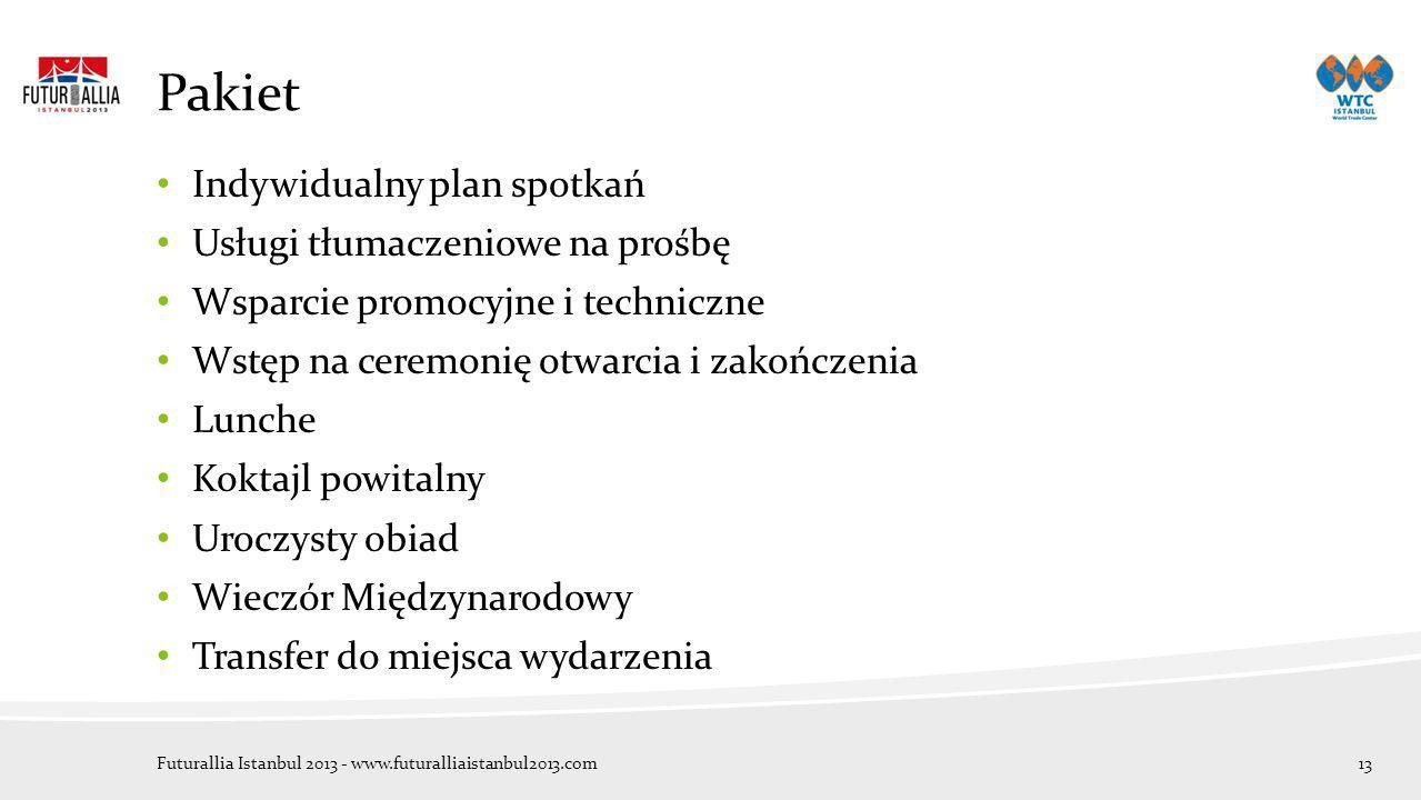 Pakiet Indywidualny plan spotkań Usługi tłumaczeniowe na prośbę