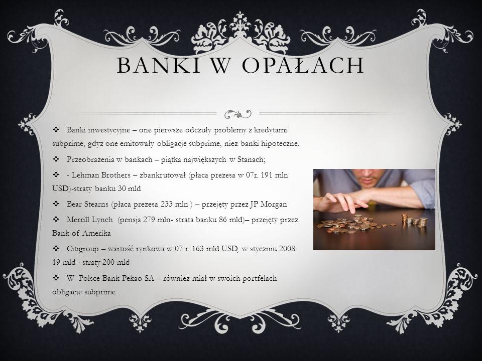 BANKI W OPAŁACH