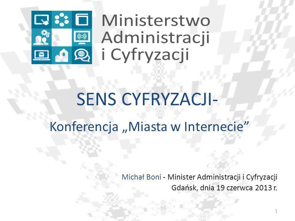 """Konferencja """"Miasta w Internecie"""