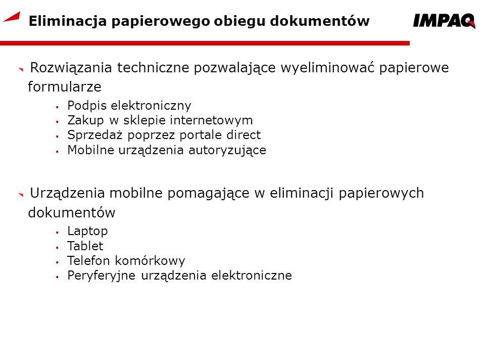Eliminacja papierowego obiegu dokumentów