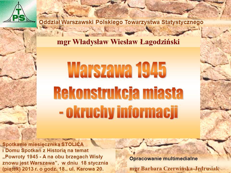 mgr Władysław Wiesław Łagodziński