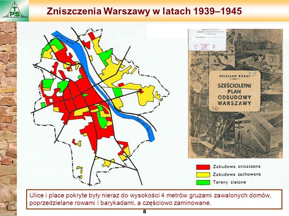 Zniszczenia Warszawy w latach 1939–1945