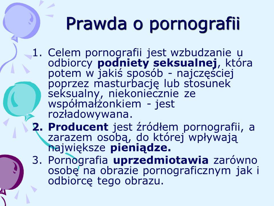 Prawda o pornografii