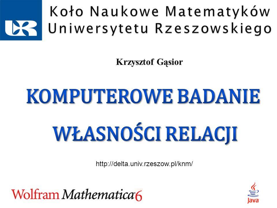 Koło Naukowe Matematyków Uniwersytetu Rzeszowskiego