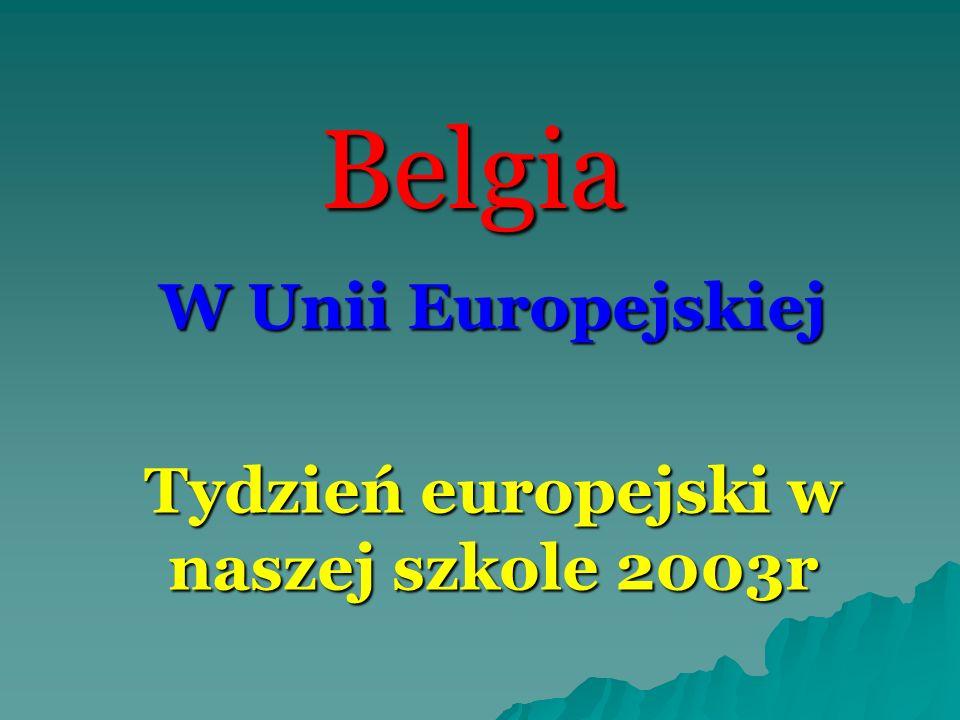 W Unii Europejskiej Tydzień europejski w naszej szkole 2003r
