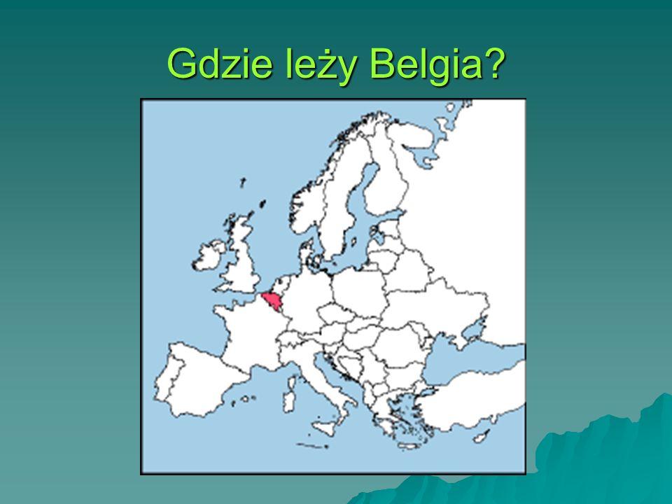 Gdzie leży Belgia