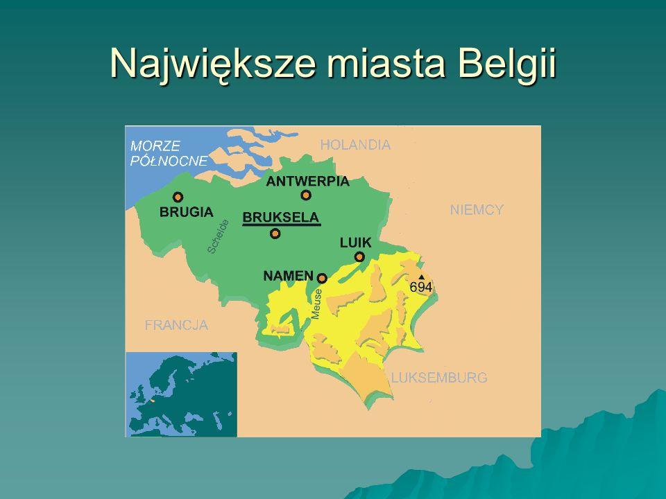 Największe miasta Belgii