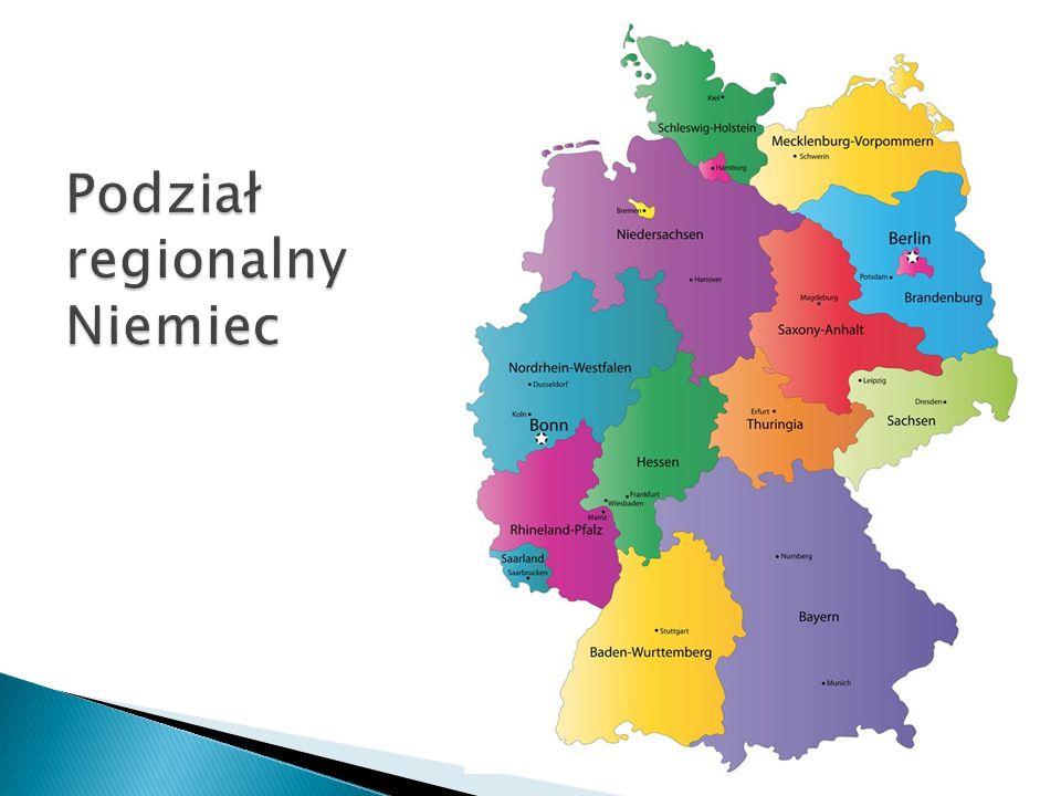 Podział regionalny Niemiec