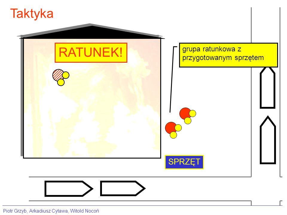 Taktyka RATUNEK! SPRZĘT grupa ratunkowa z przygotowanym sprzętem