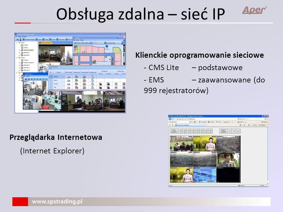 Obsługa zdalna – sieć IP