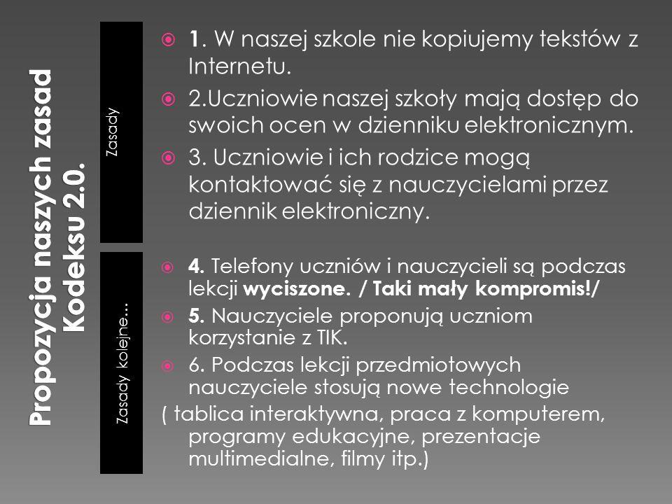 Propozycja naszych zasad Kodeksu 2.0.