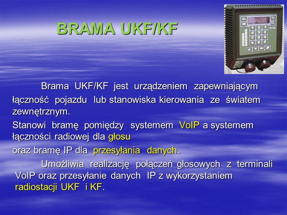 BRAMA UKF/KF
