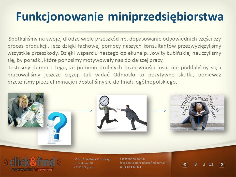 Funkcjonowanie miniprzedsiębiorstwa