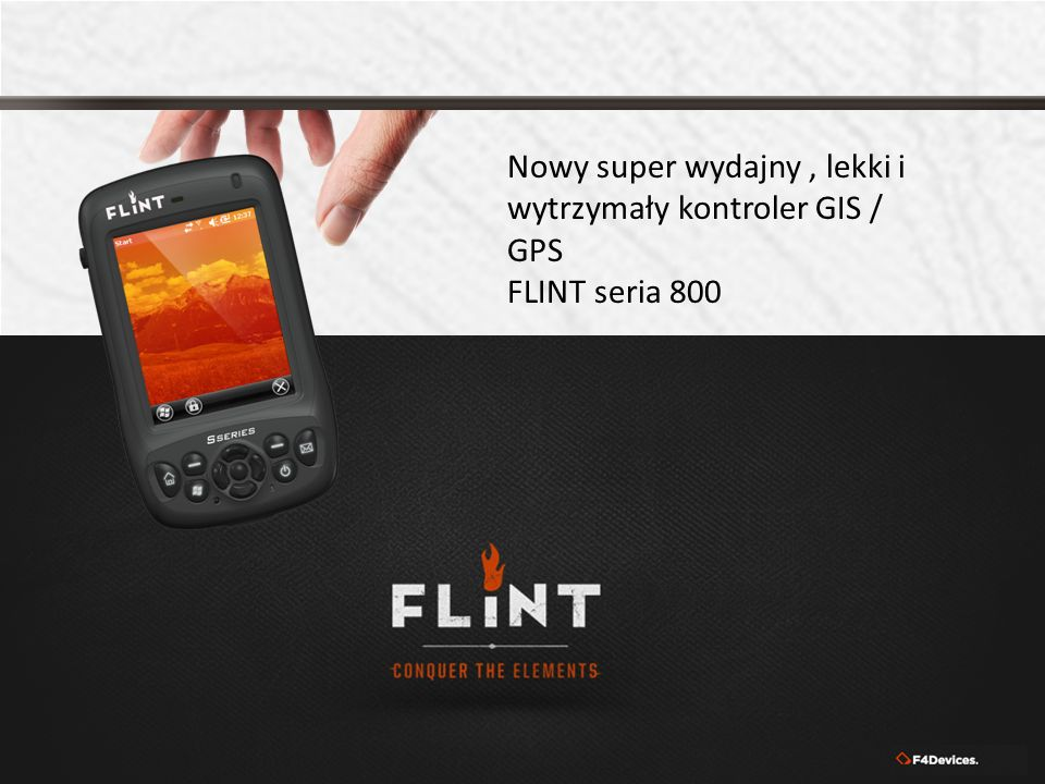 Nowy super wydajny , lekki i wytrzymały kontroler GIS / GPS