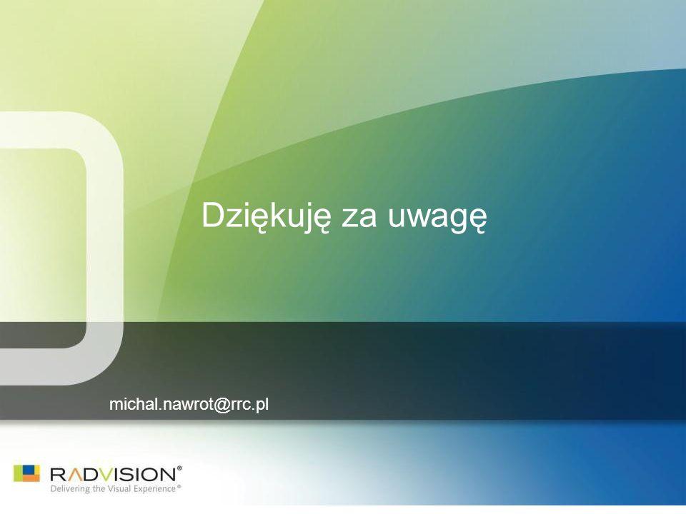 Dziękuję za uwagę michal.nawrot@rrc.pl