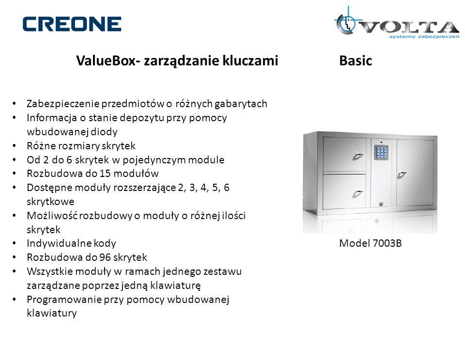 ValueBox- zarządzanie kluczami Basic