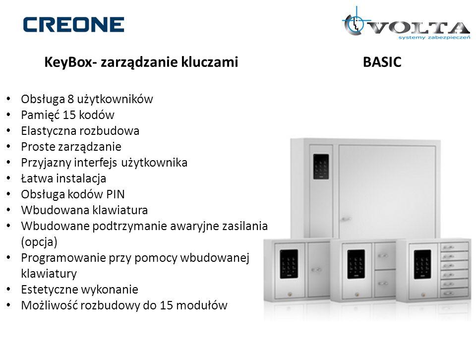 KeyBox- zarządzanie kluczami BASIC