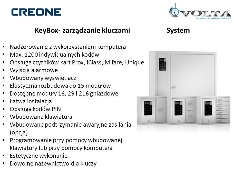 KeyBox- zarządzanie kluczami System