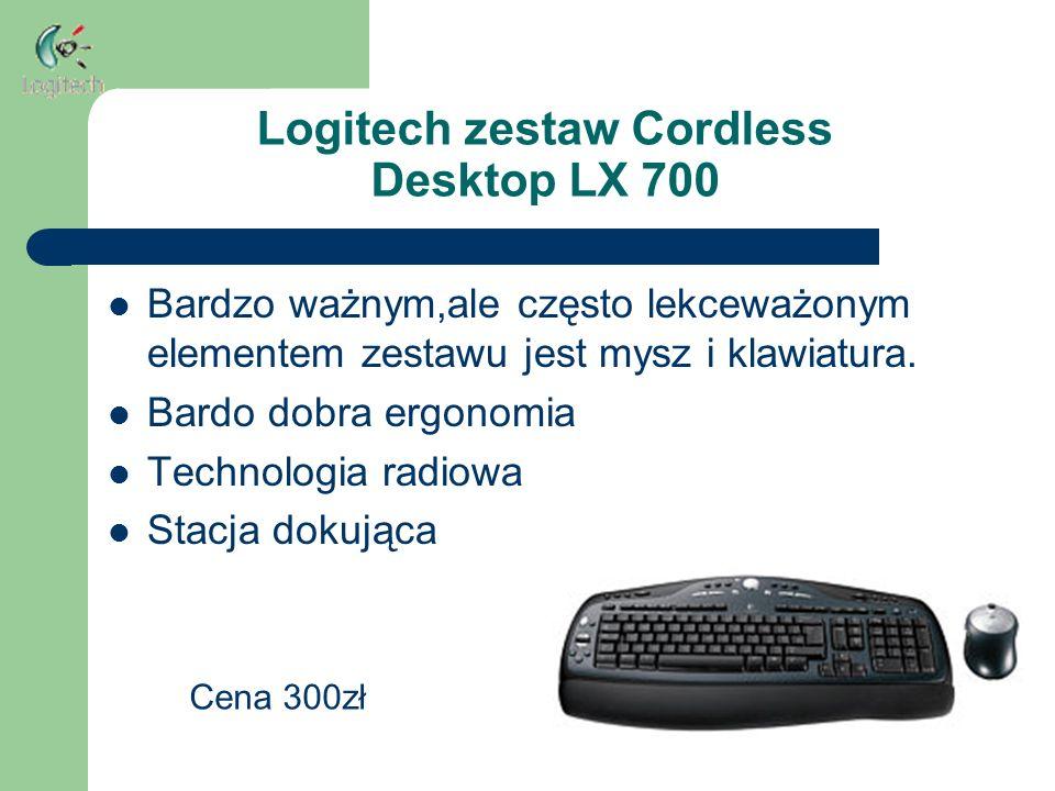 Logitech zestaw Cordless Desktop LX 700