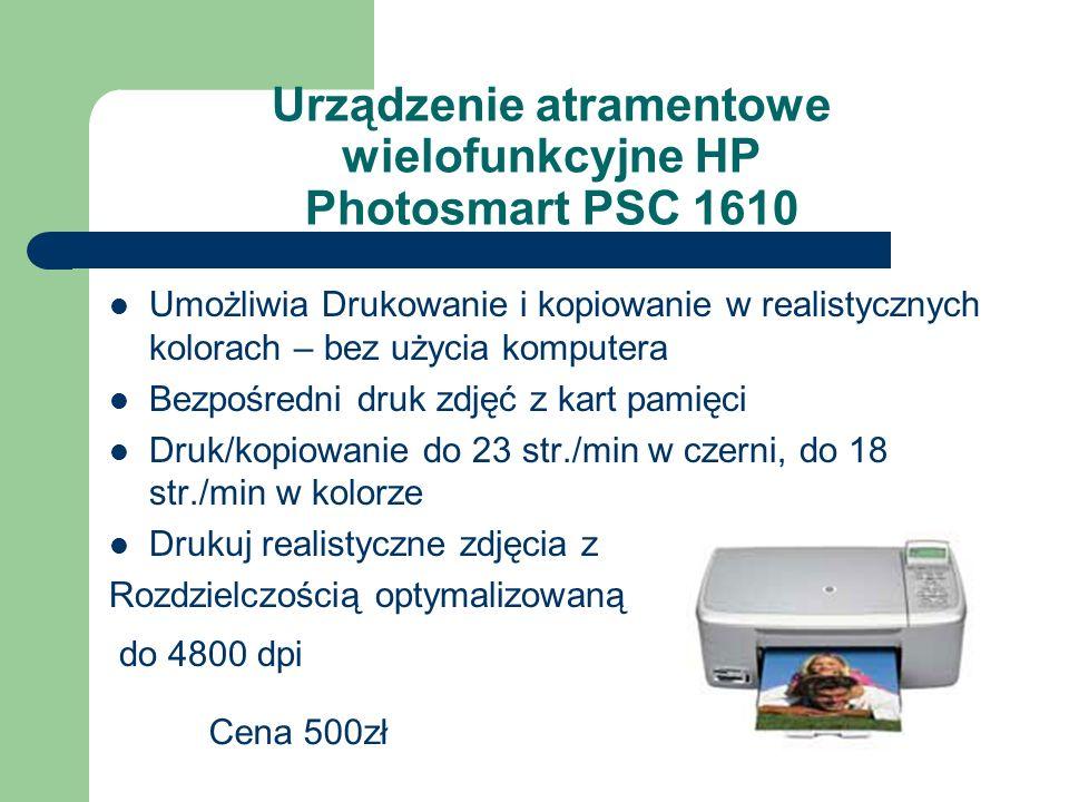 Urządzenie atramentowe wielofunkcyjne HP Photosmart PSC 1610
