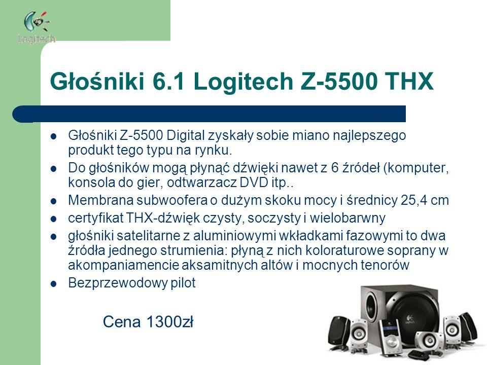 Głośniki 6.1 Logitech Z-5500 THX