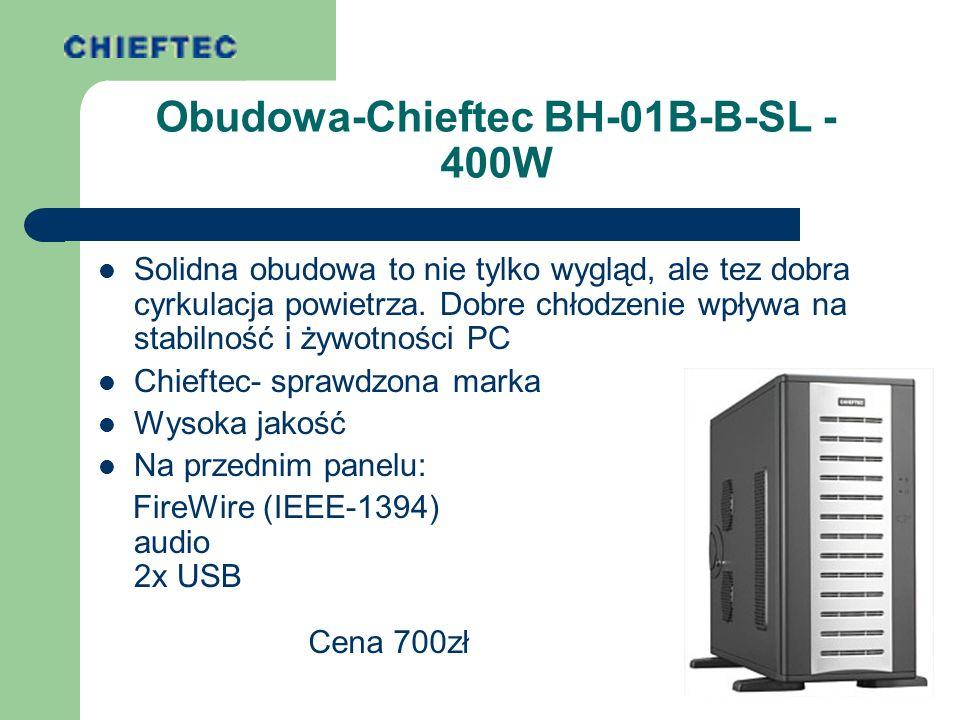 Obudowa-Chieftec BH-01B-B-SL - 400W