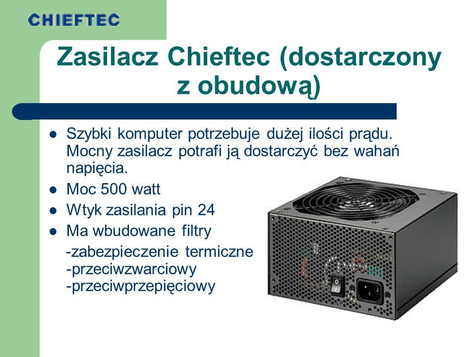 Zasilacz Chieftec (dostarczony z obudową)