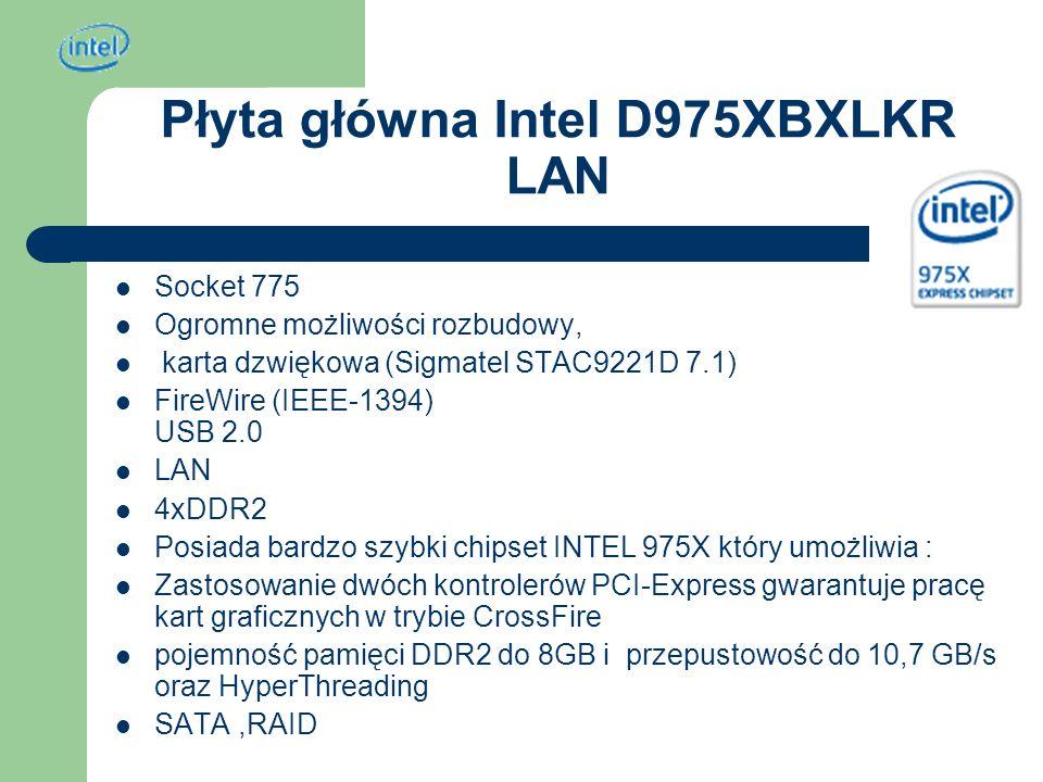 Płyta główna Intel D975XBXLKR LAN