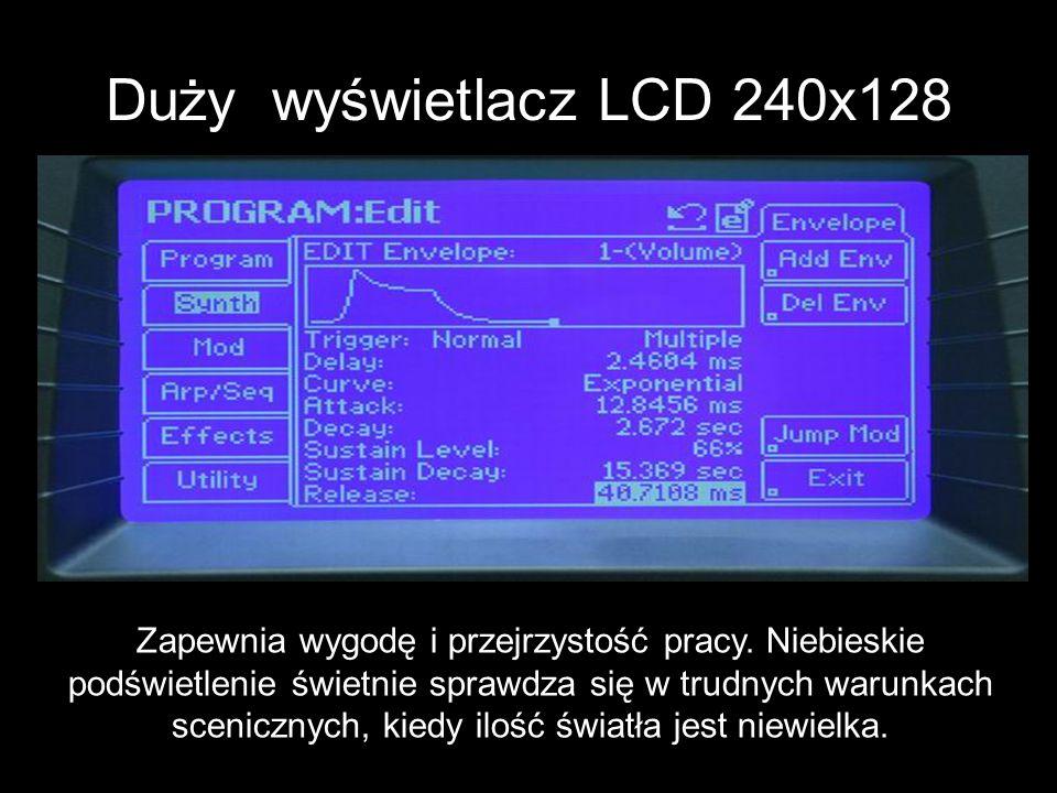 Duży wyświetlacz LCD 240x128