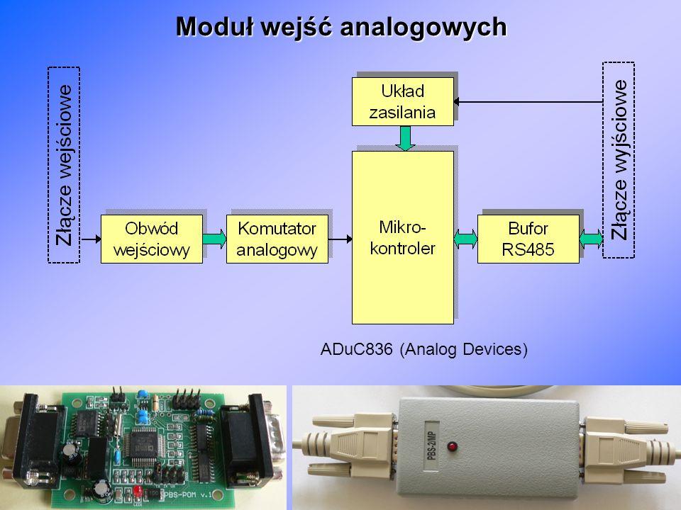 Moduł wejść analogowych