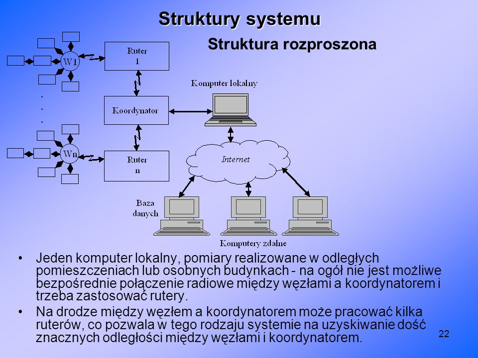 Struktura rozproszona