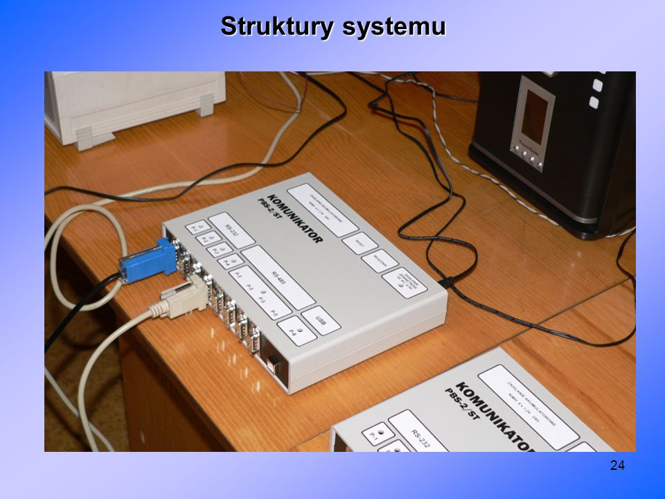 Struktury systemu