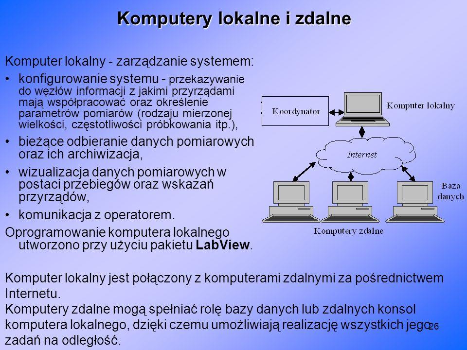 Komputery lokalne i zdalne
