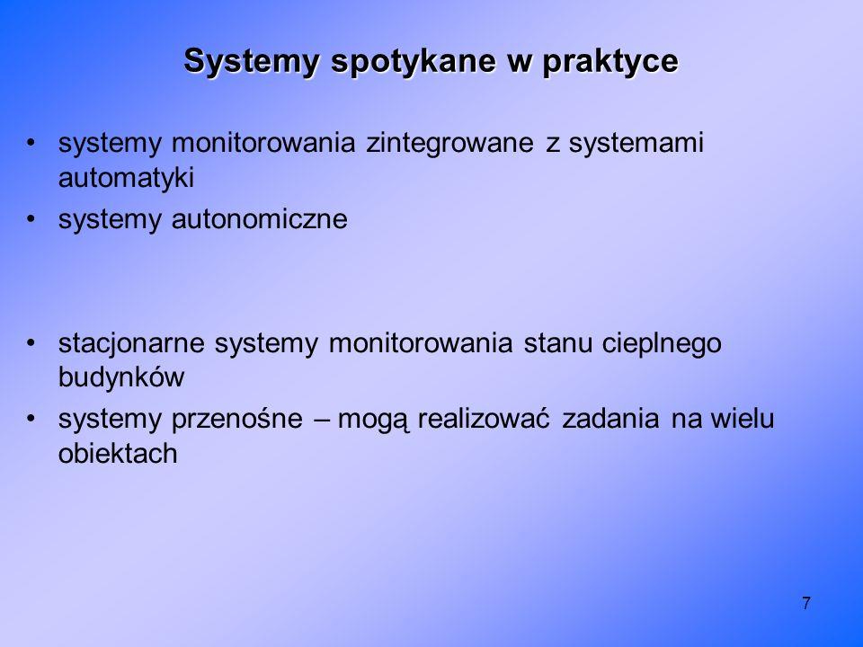 Systemy spotykane w praktyce