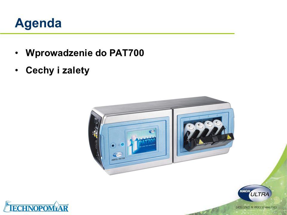 Agenda Wprowadzenie do PAT700 Cechy i zalety