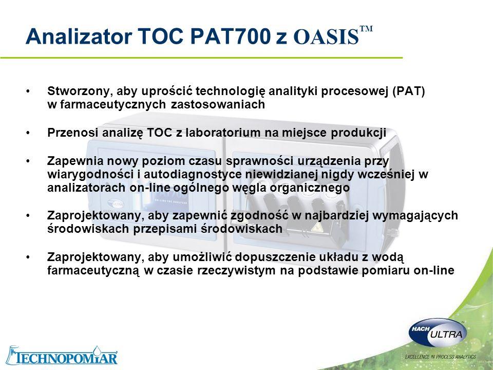 Analizator TOC PAT700 z OASISTM
