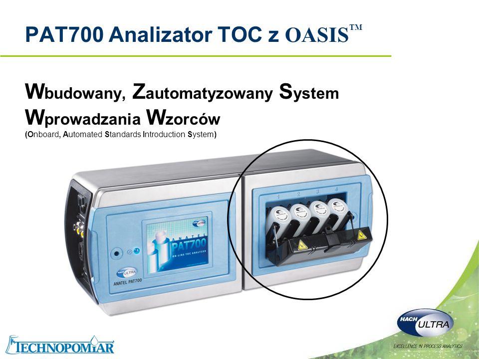 PAT700 Analizator TOC z OASISTM
