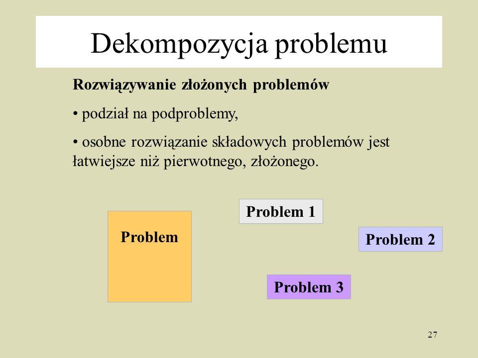 Dekompozycja problemu