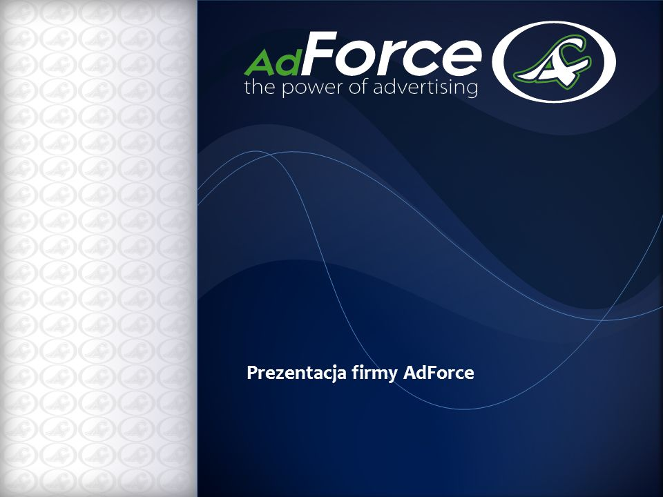 Prezentacja firmy AdForce