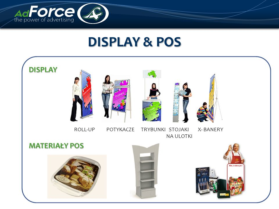 DISPLAY & POS DISPLAY.