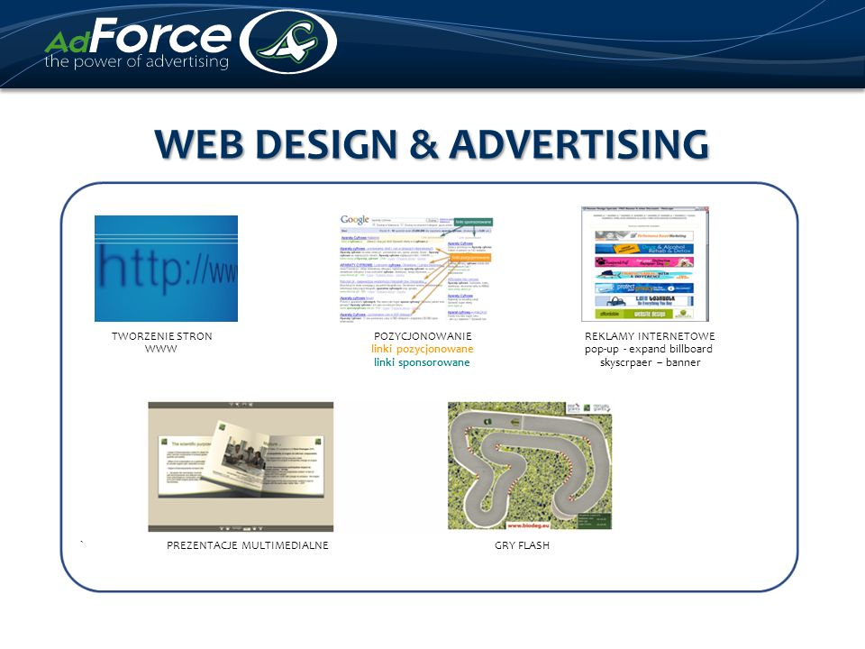 WEB DESIGN & ADVERTISING