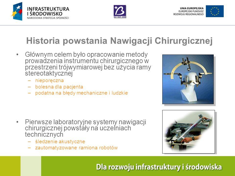 Historia powstania Nawigacji Chirurgicznej